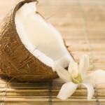 Tilapia con jengibre y leche de coco
