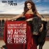 NO apoye las corridas de toros (PETA)