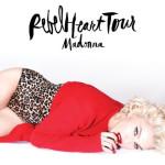 Aqui va el itinerario de la gira Madonna #RebelHeartTour