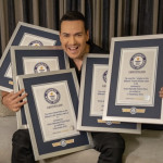 VICTOR MANUELLE CELEBRA GUINNESS WORLD RECORDS™ @GWR_ES