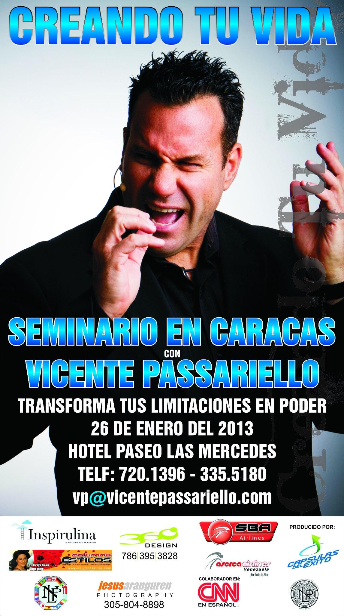 creando tu vida Caracas Poster
