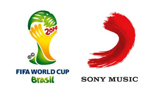 SONY MUSIC ENTERTAINMENT FIFA AND SONY MUSIC LOGOS
