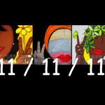 "11/11/11 Se ""pinta"" la firma para declarar la PAZ !"