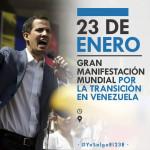 Lista De Paises Y Puntos De Concentración #YoSalgoEl23E