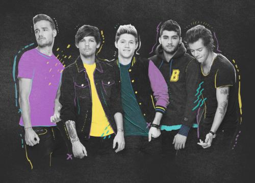 Live Nation Entertainment - One Direction Poster