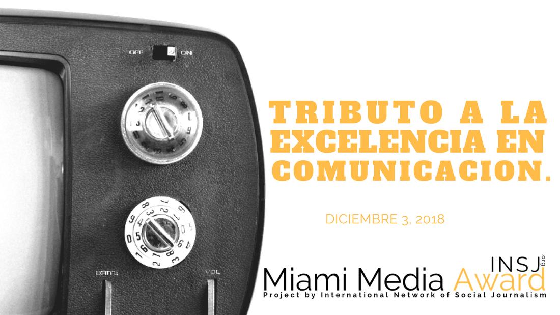 INSJ Miami Media Award